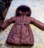 Зимняя курточка на рост 122. Фото 1.