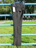 Новые модные брюки для девочки, размер 32. Фото 1.