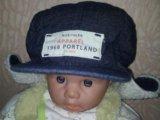 Теплая кепка-шапка h&m (74/80). Фото 1.