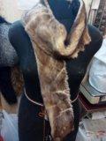 Норковый шарф. Фото 1.