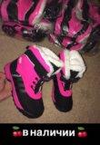 Новые зимние детские ботинки. Фото 1.