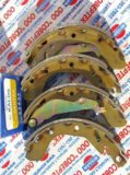 Sa129 тормозные колодки задние для chevrolet aveo. Фото 1.