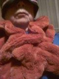 Накидной шарф иск мех. Фото 1.