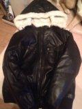 Зимняя кожаная куртка. Фото 2.