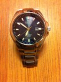 Часы citizen eco-drive titanium sapphire wr 100. Фото 4.