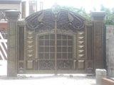 Ворота кованные. Фото 4.