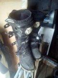 Мотоботы (ботинки мотоциклетные). Фото 1.