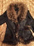 Зимняя кожаная куртка. Фото 3.