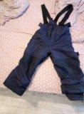 Зимние штанишки теплые на 105-110. Фото 1.
