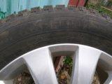 Резина и диски. Фото 1.