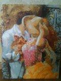 Раскраска по номерам.осенний поцелуй. Фото 4.