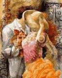 Раскраска по номерам.осенний поцелуй. Фото 1.