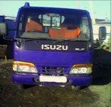Бортовой грузовик isuzu elf. Фото 1.