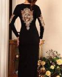 Новое вечернее платье с вышивкой, размер 48. Фото 2.