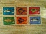 Марки болгарии рыбы. Фото 1.