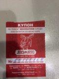 """Купон на 100р в """"лось и лосось"""". Фото 1."""