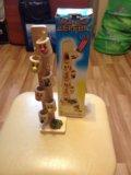 Деревянная игрушка ведрышки. Фото 1.