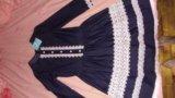 Новое джинсовое платье гепюр. Фото 4.