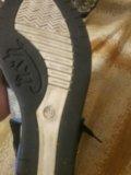 Осенние ботинки на каблуке. Фото 4.
