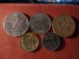 Монеты франции. Фото 1.