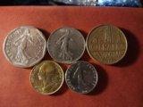 Монеты франции. Фото 2.