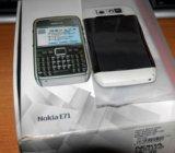Nokia e71 white. Фото 3.
