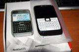 Nokia e71 white. Фото 4.