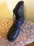 Новые кожаные  берцы, 28,5 размер. Фото 2.