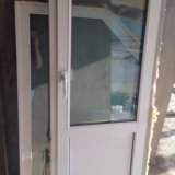 Пластиковые окна б/у. Фото 1.