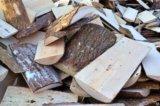 Сухие колотые дрова угол  доставка. Фото 1.