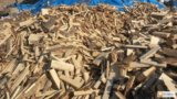 Сухие колотые дрова угол  доставка. Фото 2.