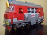 Продам поезд ржд из конструктора. Фото 1.