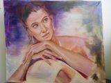 Картина портрет девушки. Фото 1.