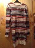 Вязаное платье. Фото 1.
