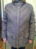 Куртка-пуховик зима 54размер. Фото 1.