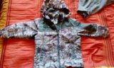 Куртка ветровки+флиска 110-116. Фото 1.