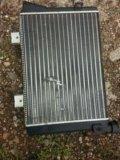 Радиатор охлаждения на ваз 2106 новый. Фото 1.