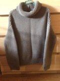Модная кофта свободного силуэта укороченная zara s. Фото 2.