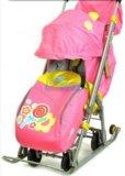 Санки-коляска детям ника 7. Фото 1.