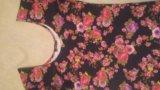 Платье с цветами, м. Фото 2.