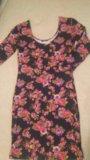 Платье с цветами, м. Фото 3.