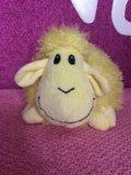 Плюшевая-овечка. Фото 1.