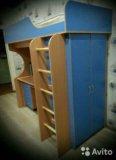 Кровать- чердак. Фото 1.