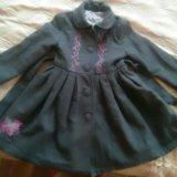 Пальто на девочку. Фото 1.