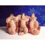 "Фигурка ""три обезьяны"". Фото 1."