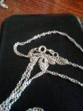Серебряная цепочка с подвеской. Фото 2.