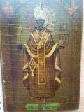 Икона 19 век николай можайский . Фото 1.