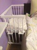 Детская кровать, колыбель малуша. Фото 2.