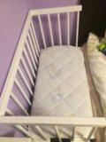 Детская кровать, колыбель малуша. Фото 1.