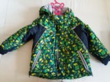Куртка с комбенезоном для мальчиков зима-осень. Фото 1.